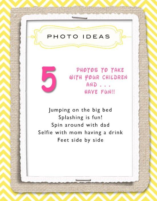 5 photo ideas