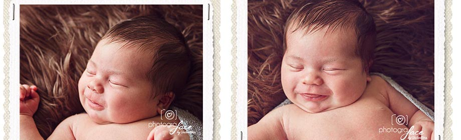 Newborn Smile – must be Love at First Sight